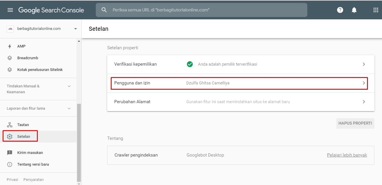 Cara Tambah Pengguna dan Transfer Properti Domain