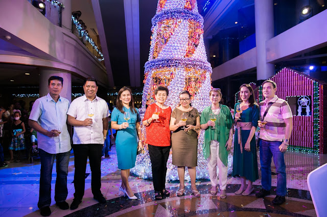 Cebu Parklane international Hotel Christmas Lighting 2017