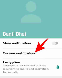 Whatsapp me custom ringtone use kaise kare 3
