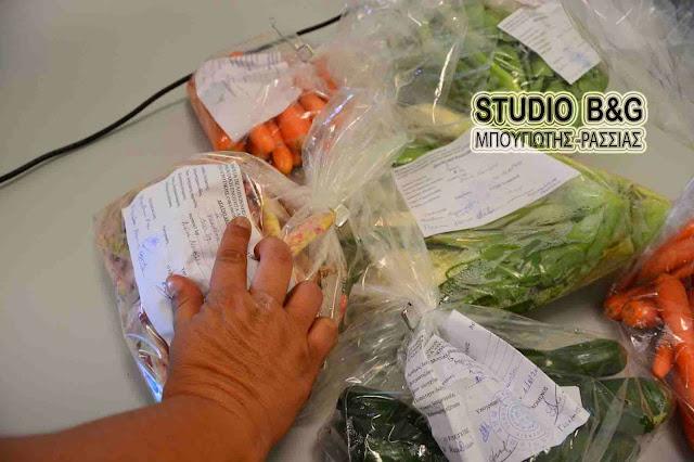 Έλεγχοι για υπολείμματα φυτοφαρμάκων σε γεωργικά προϊόντα στην Αργολίδα