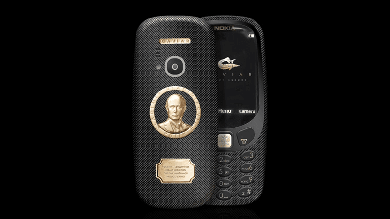 Nokia 3310 Supremo Putin Is Priced At Around PHP 85K!
