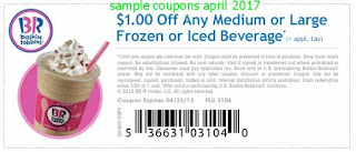 free Baskin Robbins coupons for april 2017