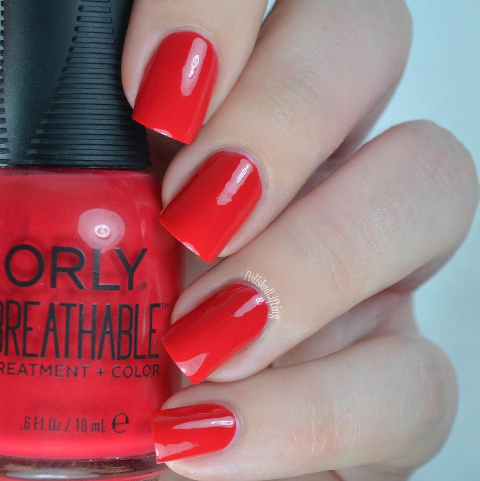 Polished Lifting: Orly Breathable Swatches & Nail Art