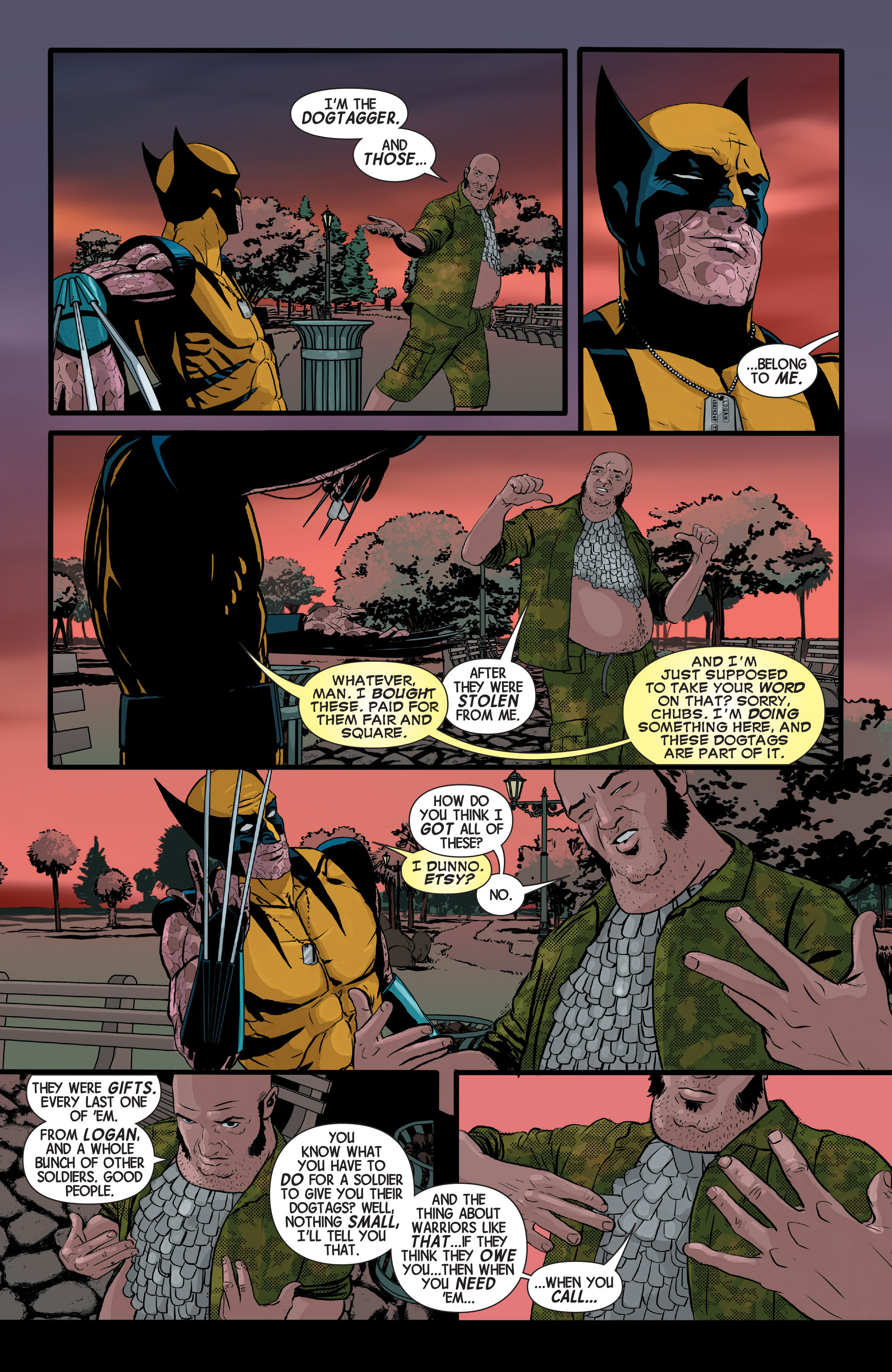 Read online Wolverines comic -  Issue #13 - 17