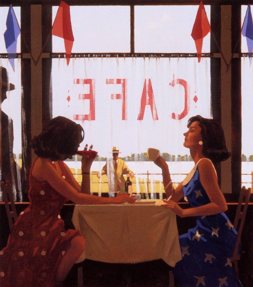Jack  Vettriano  Caf C A  days
