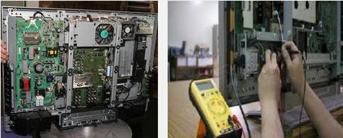 Sửa chữa tivi LCD tại nhà khu vực Hà Nội