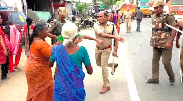 பெண்கள் மீதான தாக்குதல் குறித்து டிஎஸ்பி பாண்டியராஜன் ஆடியோ விளக்கம்