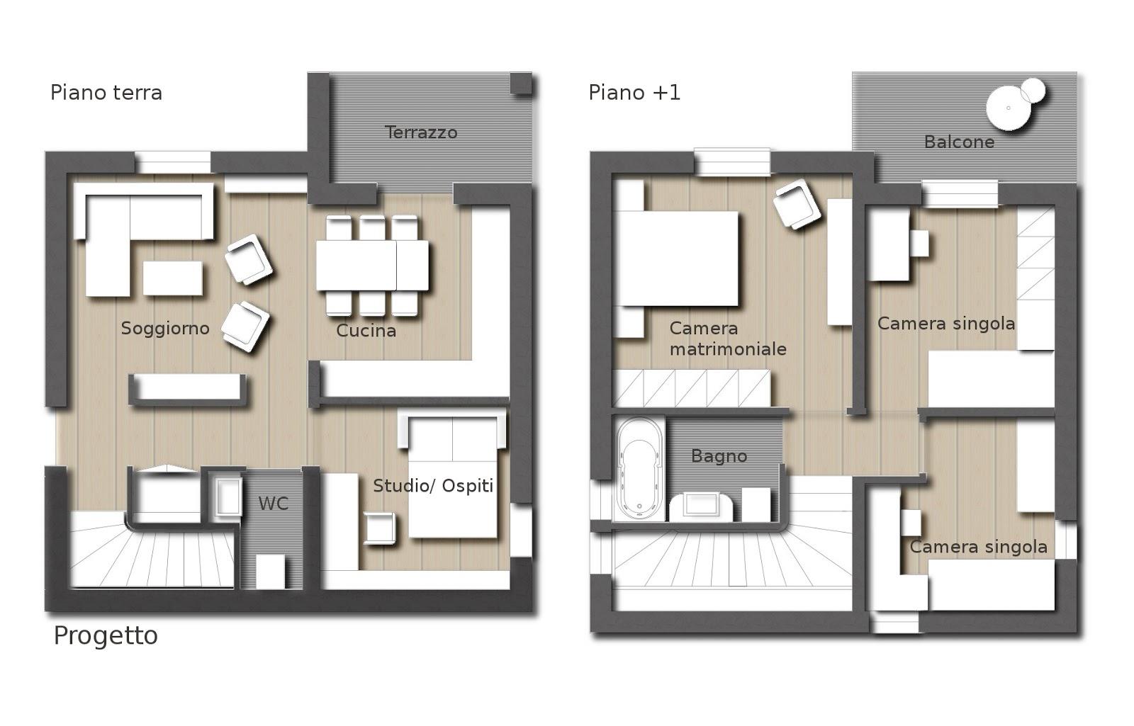 Progetto ristrutturazione appartamento tg81 pineglen for Idee per ristrutturare casa indipendente