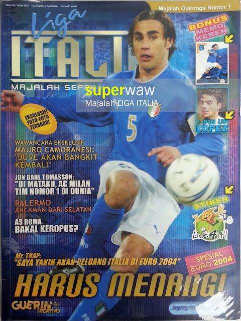 Majalah LIGA ITALIA (HARUS MENANG!)