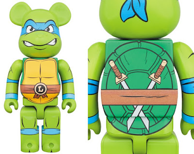 Teenage Mutant Ninja Turtles Leonardo 1,000% Be@rbrick Vinyl Figure by Medicom