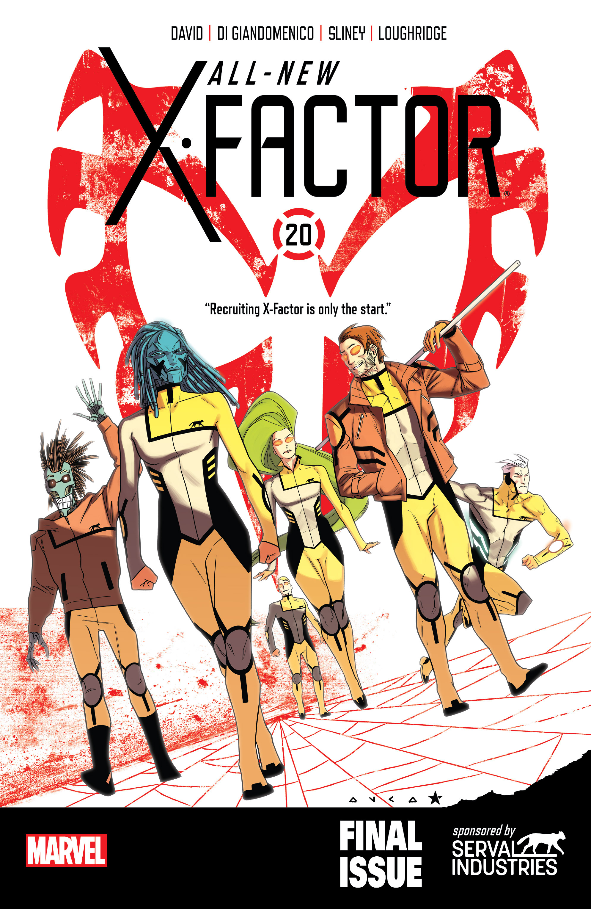 Read online All-New X-Factor comic -  Issue #20 - 1