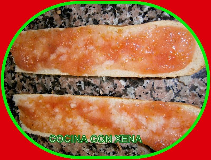 COCINA CON XENA Pan a la catalana