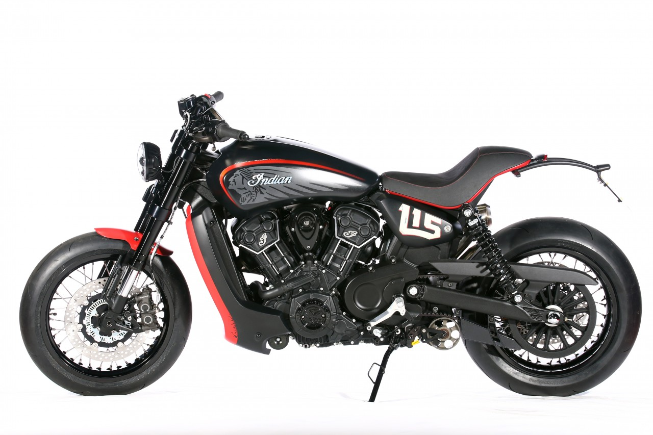 racing caf indian scout mwm 115 by midwest moto. Black Bedroom Furniture Sets. Home Design Ideas