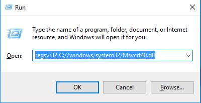 Télécharger Msvcrt40.dll Fichier Gratuit Installer