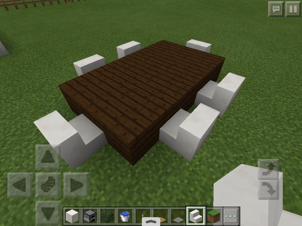 How to make a table in minecraft Minecraft Pocket How To Make Super Cool Minecraft Table Mrsheepingtons Minecraft Blog How To Make Super Cool Minecraft Table Mrsheepingtons