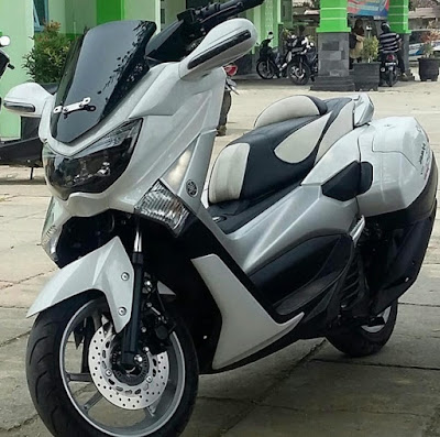 Modifikasi Motor Yamaha Nmax Bikin Istri Tambah Cinta Modifikasi
