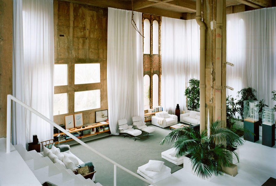Architect Has Transformed An Old Cement Factory Into His House, And The Interior Is Mindblowing