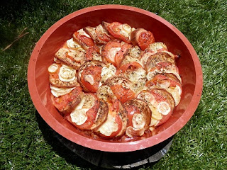 Recette provencale Tian courgettes aubergines tomates oignons