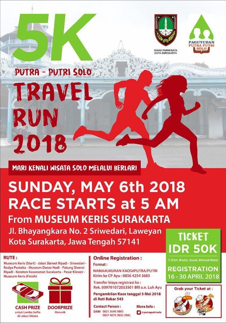 Putra-Putri Solo - Travel Run • 2018