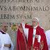 """En la misa de #DomingoDeRamos , Francisco recordó a """"los que sufren por la guerra y el terrorismo"""""""