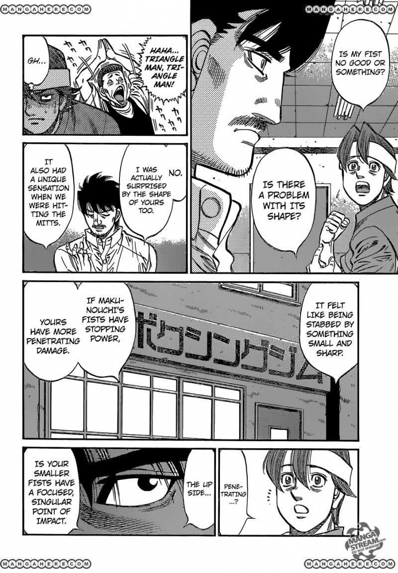 Hajime no Ippo - Chapter 1132