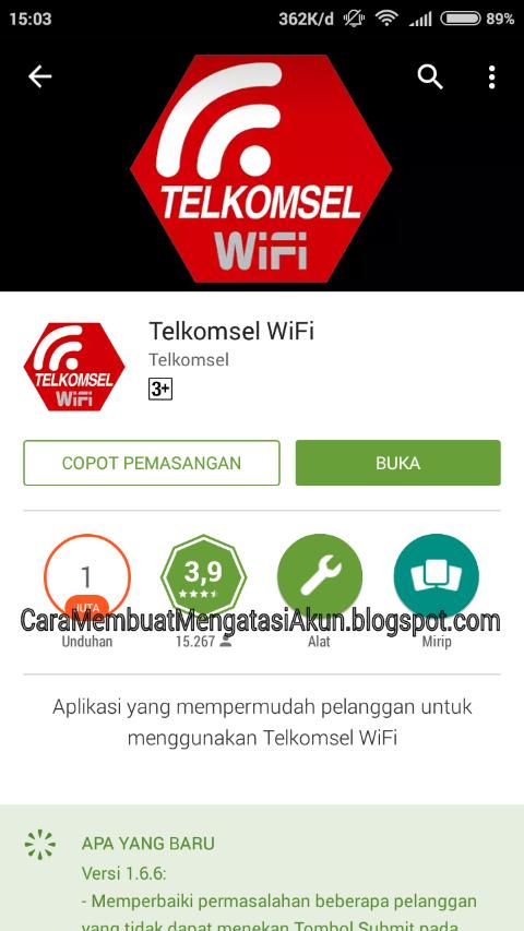 Cara Menggunakan Paket WiFi Telkomsel Simpati Loop di Android