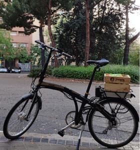 Frutavia: llevamos fruta con el sabor de antes a tu oficina… ¡en bici-cargo!