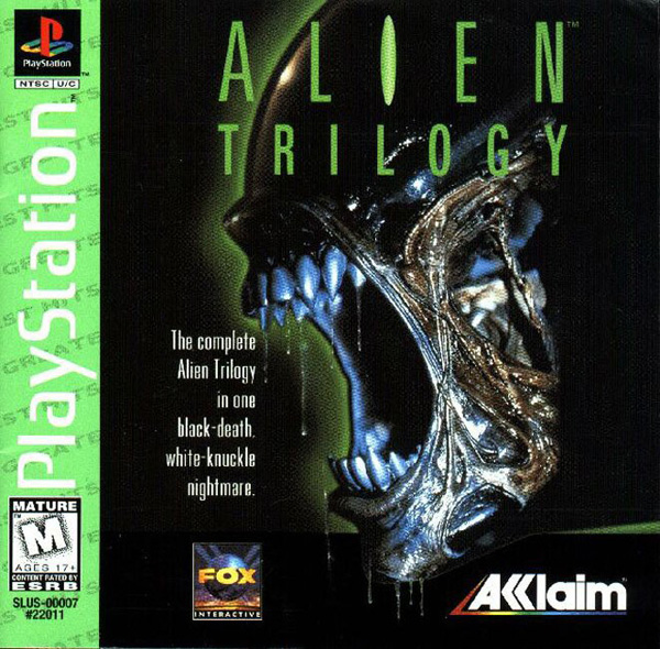 Alien Trilogy - PSX - Portada