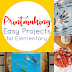 Easy Printmaking Activities for Elementary Kids