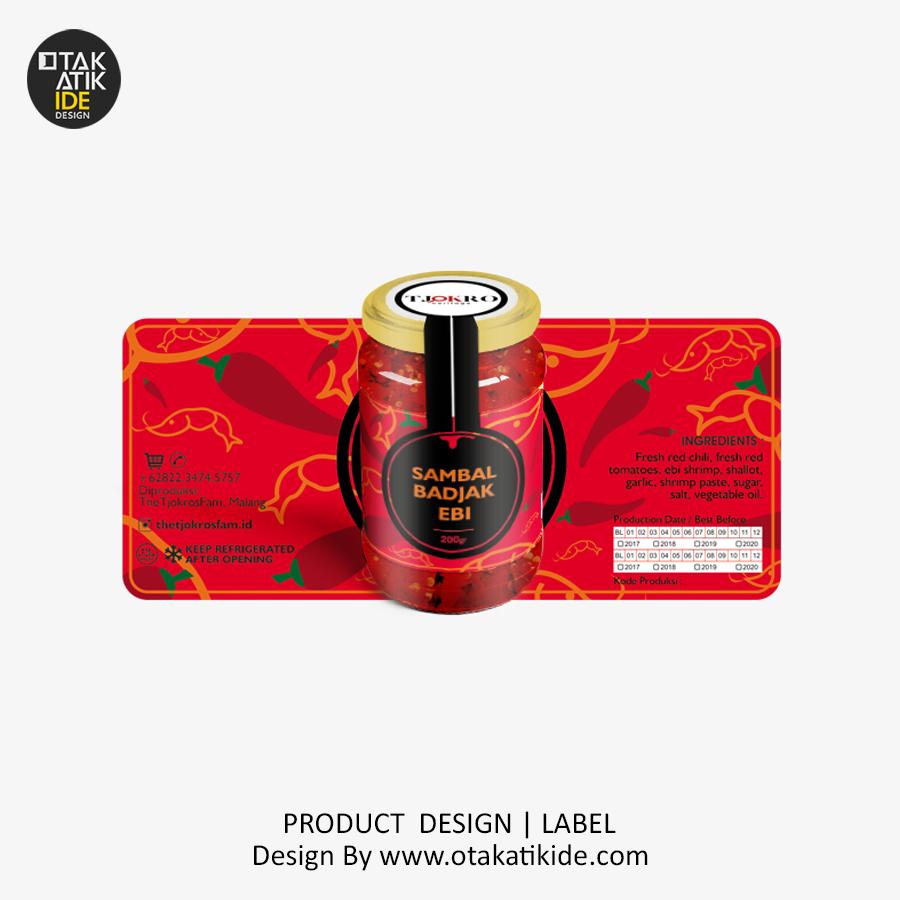 Jasa Desain Label Produk Sambaljasa Desain Kemasan Produk