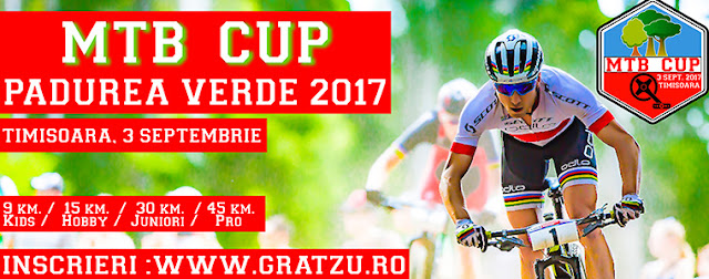 Cupa Mountain Bike la Timisoara 2017
