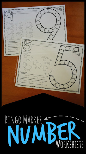 FREE bingo marker number worksheets - these are such a fun counting practice for preschool, prek, and kindergarten kids to to count to 10 and practice writing numbers 1-20 with a fun farm twist. Farm worksheets preschool, farm worksheets kindergarten, farm worksheets free