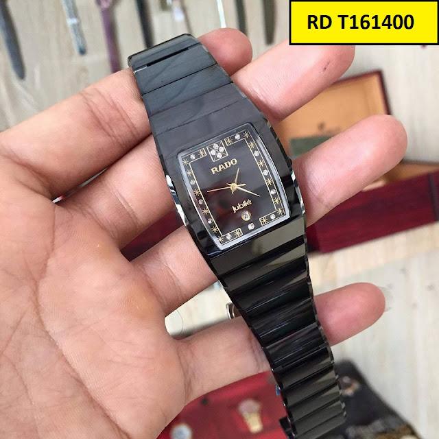 Đồng hồ nam mặt chữ nhật Rado RD T161400