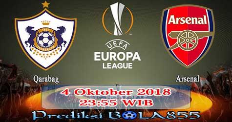 Prediksi Bola855 Qarabag vs Arsenal 4 Oktober 2018