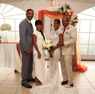 Jada Pinkett's mum gets married to longtime boyfriend