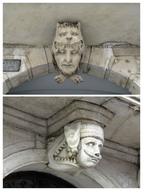 The disturbing edifices of Trieste City