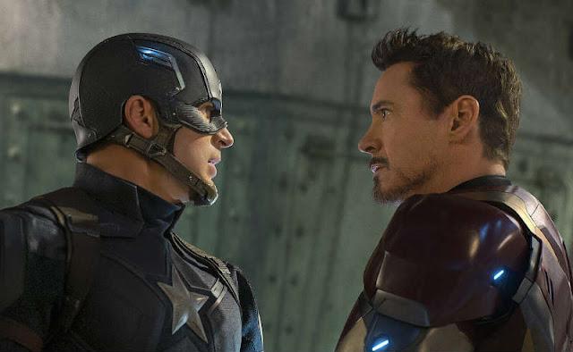 'CAPTAIN AMERICA: CIVIL WAR': Dueling Friends Concludes with Poignant Messages of Patriotism and Friendship. All text is © Rissi JC