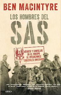 """""""LOS HOMBRES DEL SAS"""" de Ben Macintyre reseña del libro"""