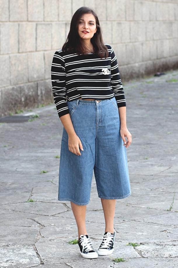 Cropped Pants, Wide Legs Pants, Pantaloni, Culottes