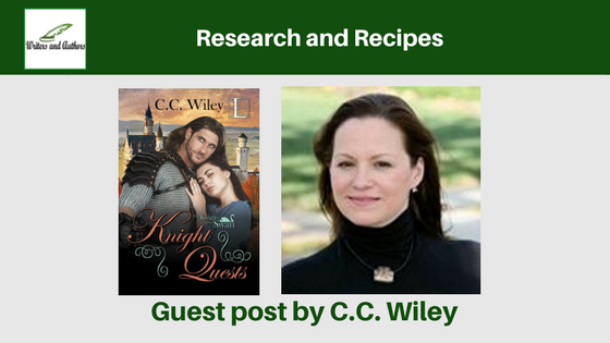 Research and Recipes, Guest post by C.C. Wiley