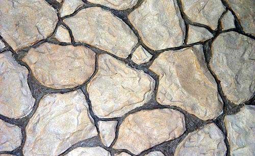 Con mis manos - Imitacion piedra pared ...