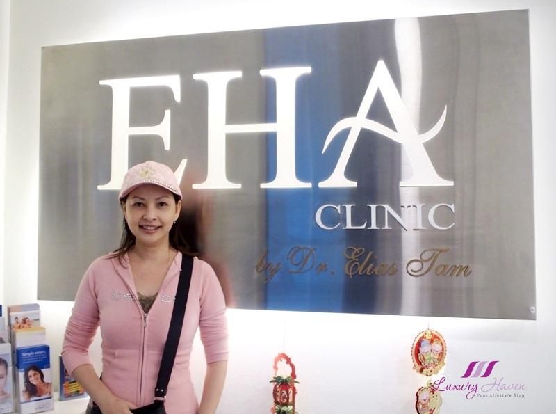 singapore beauty influencer reviews eha v signature treatment