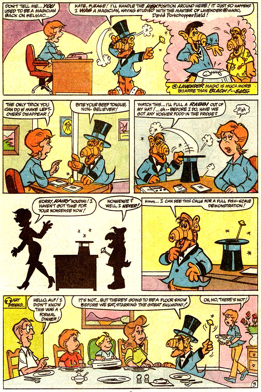 Read online ALF comic -  Issue #34 - 7