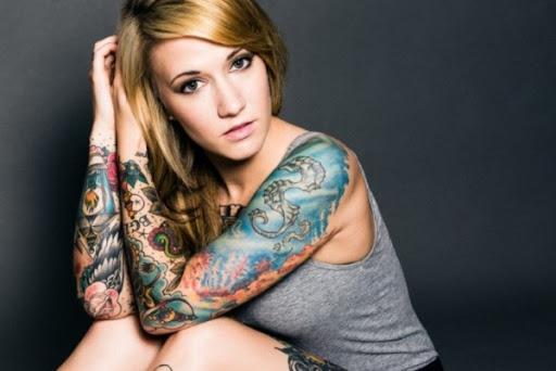 Subaquatico Manga Tatuagem