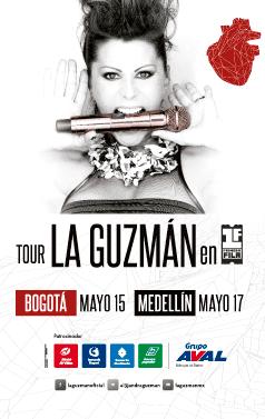 poster alejandra guzman 2014 - Bogota