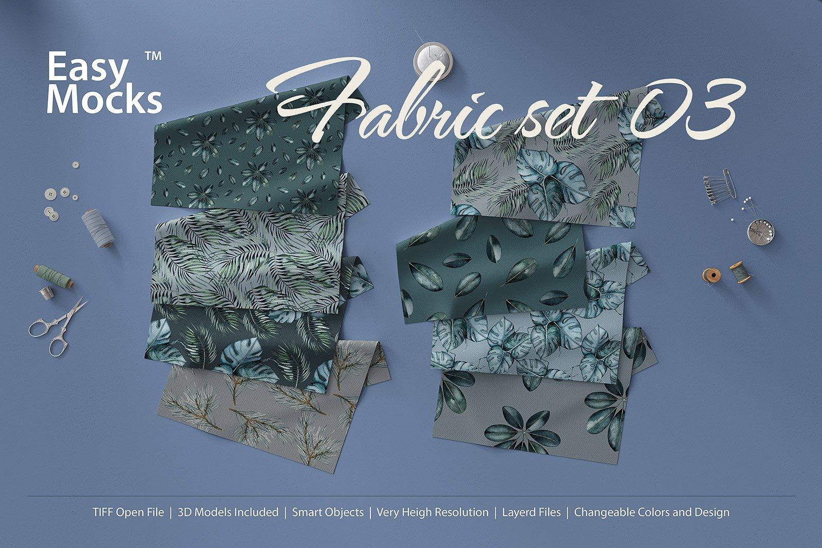 Fabric Set Mockup
