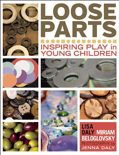 book cover for Loose Parts:  Inspiring Play in Young Children