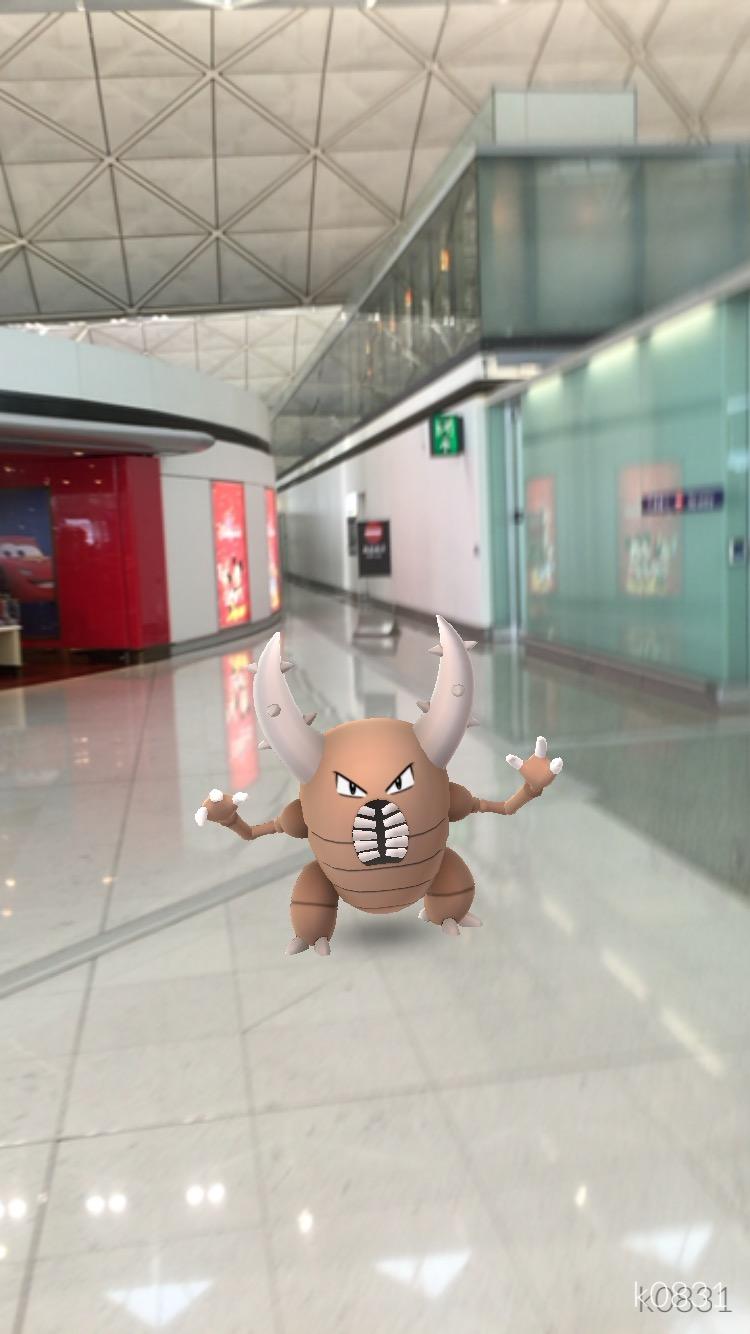 【ポケモンGo】香港国際空港はポケモンを遊んでいて楽しい