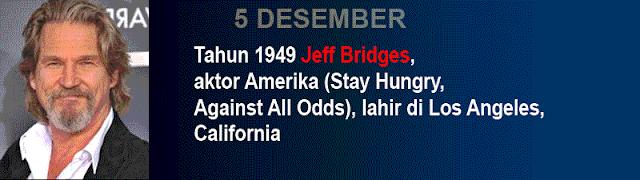 Hari kelahiran Jeff Bridges
