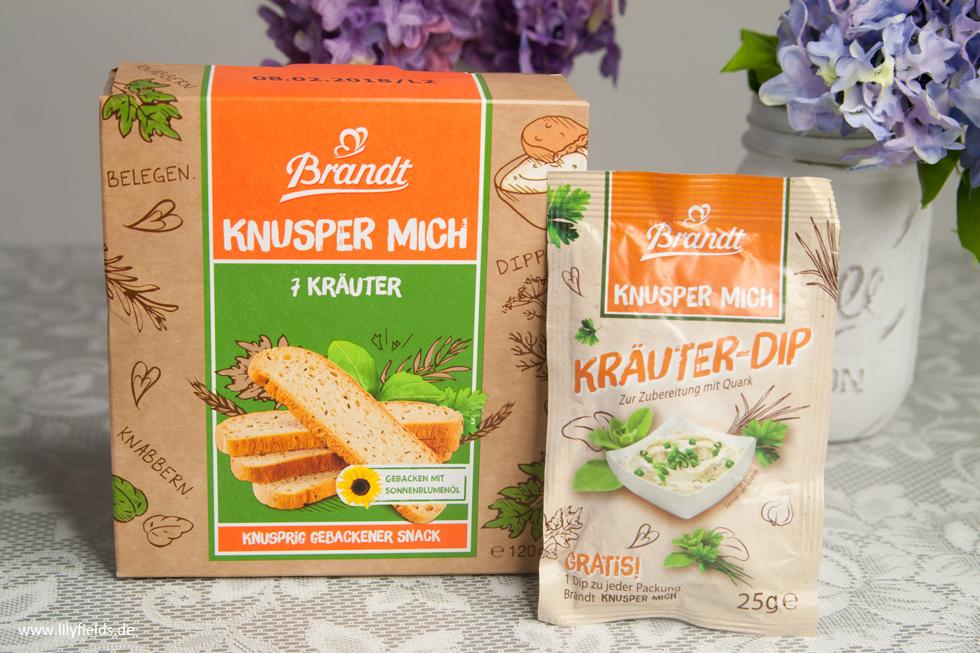 Brandt Knusper Mich und Kräuter-Dip